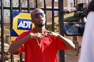 Snypa Kidd on the streets of Cap City