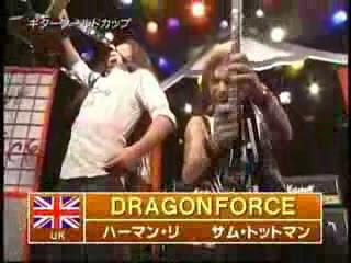 dragonforce rock fujiyama