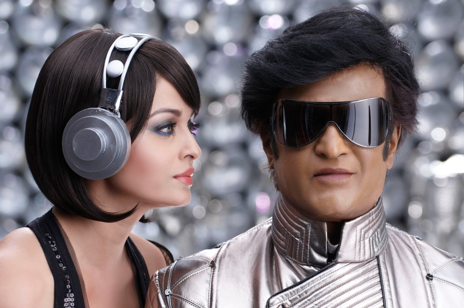 Image result for robot film rajni aishwarya