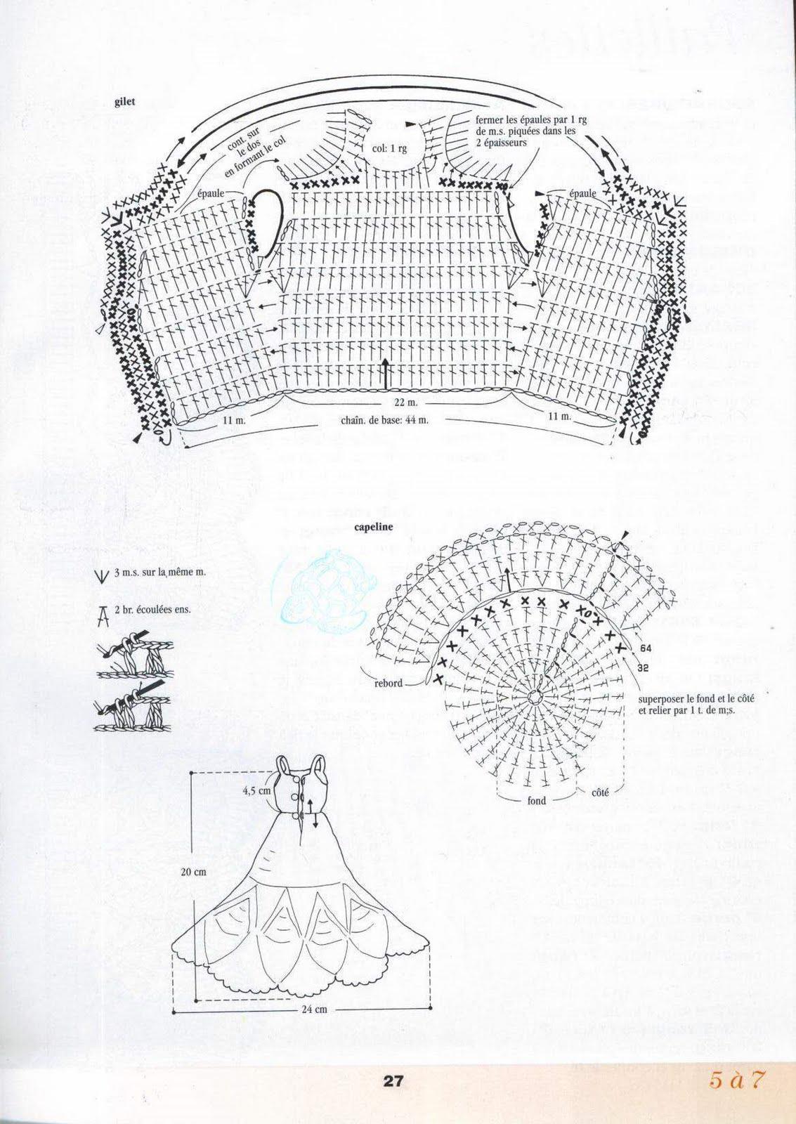 Платья для Барби - вязание крючком на 31