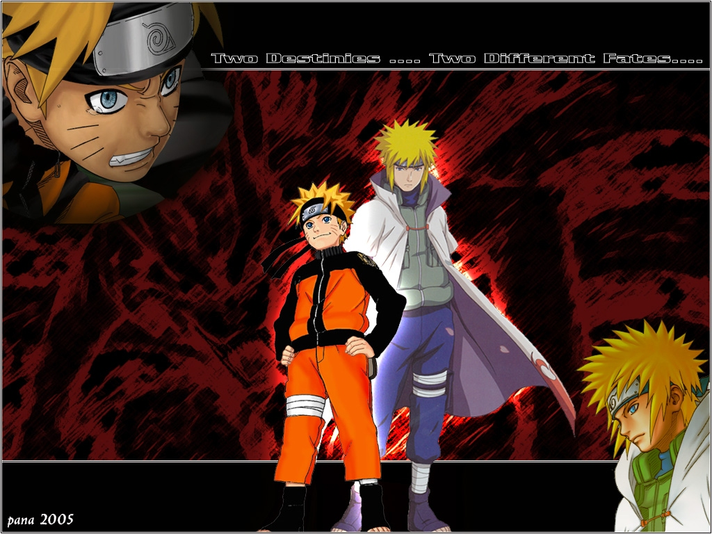 Naruto Wallpaper - Two Destinies, Two Different Fates