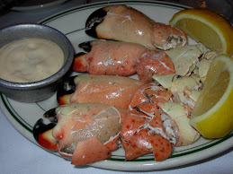 Dinner at Joe's Stone Crab