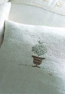 embroidered cushion from Catherine Zoob