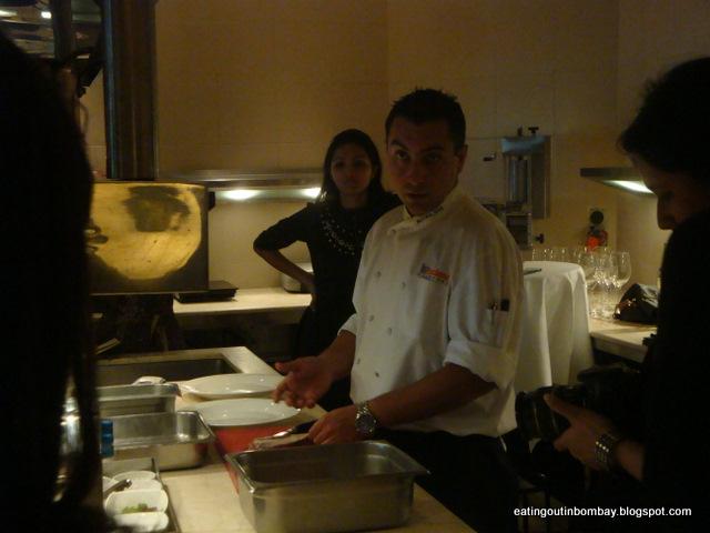 La Credenza Michelin : Eating out in bombay vetro with michelin star chef igor macchia