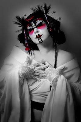 japanese female models, Japan Girl Fashion Photography, kabuki
