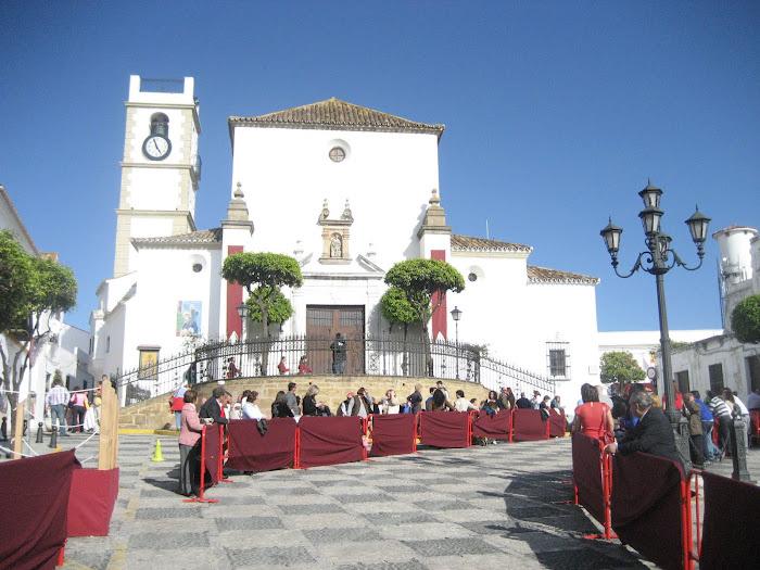 San Roque, esperando la procesión