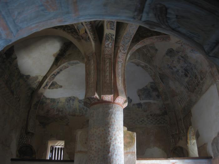 San Baudelio de Berlanga, frescos románicos