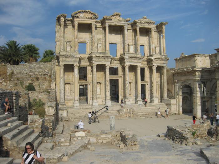 Éfeso, la biblioteca de Celso
