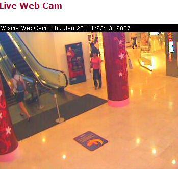 Wisma Atria live cam