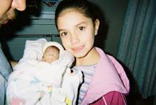 Nadine & her baby sister Alyssa RIP