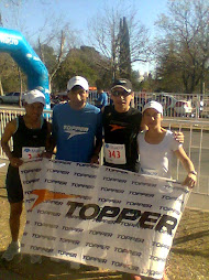 EL RUNNING TEAM TOPPER QUE COMPITIO EN LA MEDIA MARATON DE CORDOBA