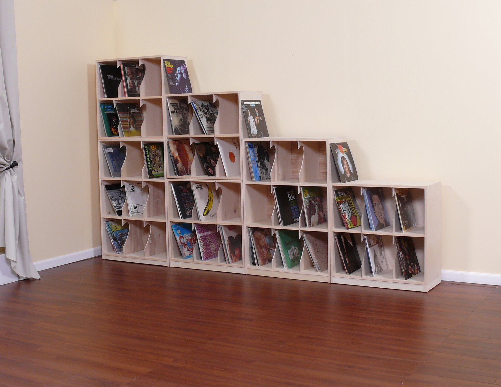 Genial Affordable LP Record Storage Solutions
