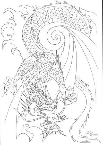 japanese dragon tattoos designs
