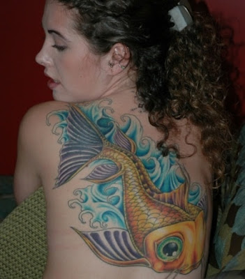 Japanese Fish Tattoo Designs Another popular design which is preferred by a
