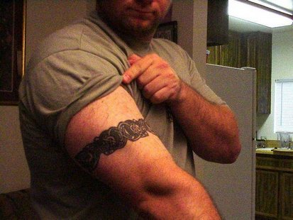 tribal arm band tattoos. images Free Armband Tattoo