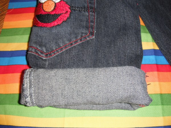 Bouncing Buttons crafts making it simple: Elmo Jeans and ...