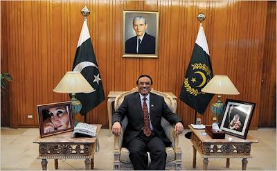 Zardari - President House never faces electricity