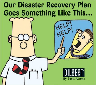 Dilbert Disaster Recovery Plan