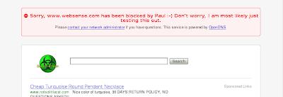 Blocked Websense