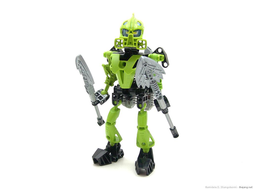 Lego Bionicle Moc Toa Of Air
