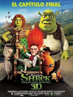 Shrek 4: Felices Para Siempre Poster
