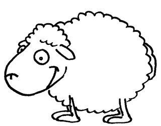 Un mouton pour exercice graphisme sur les boucles