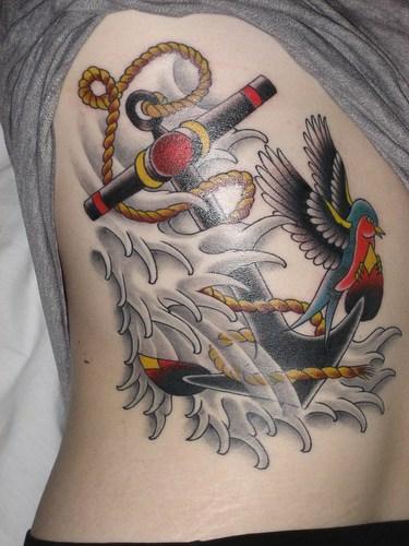 tatuajes de estrellas en los pies. Si se tatúan en el pecho, su significado es un anclaje emocional o afectivo, mientras que en ubicaciones como los pies o las manos y brazos representan más