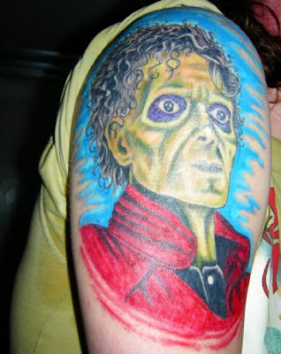 Michael Jackson Tattoo Many fans have decided to honor him directly on your