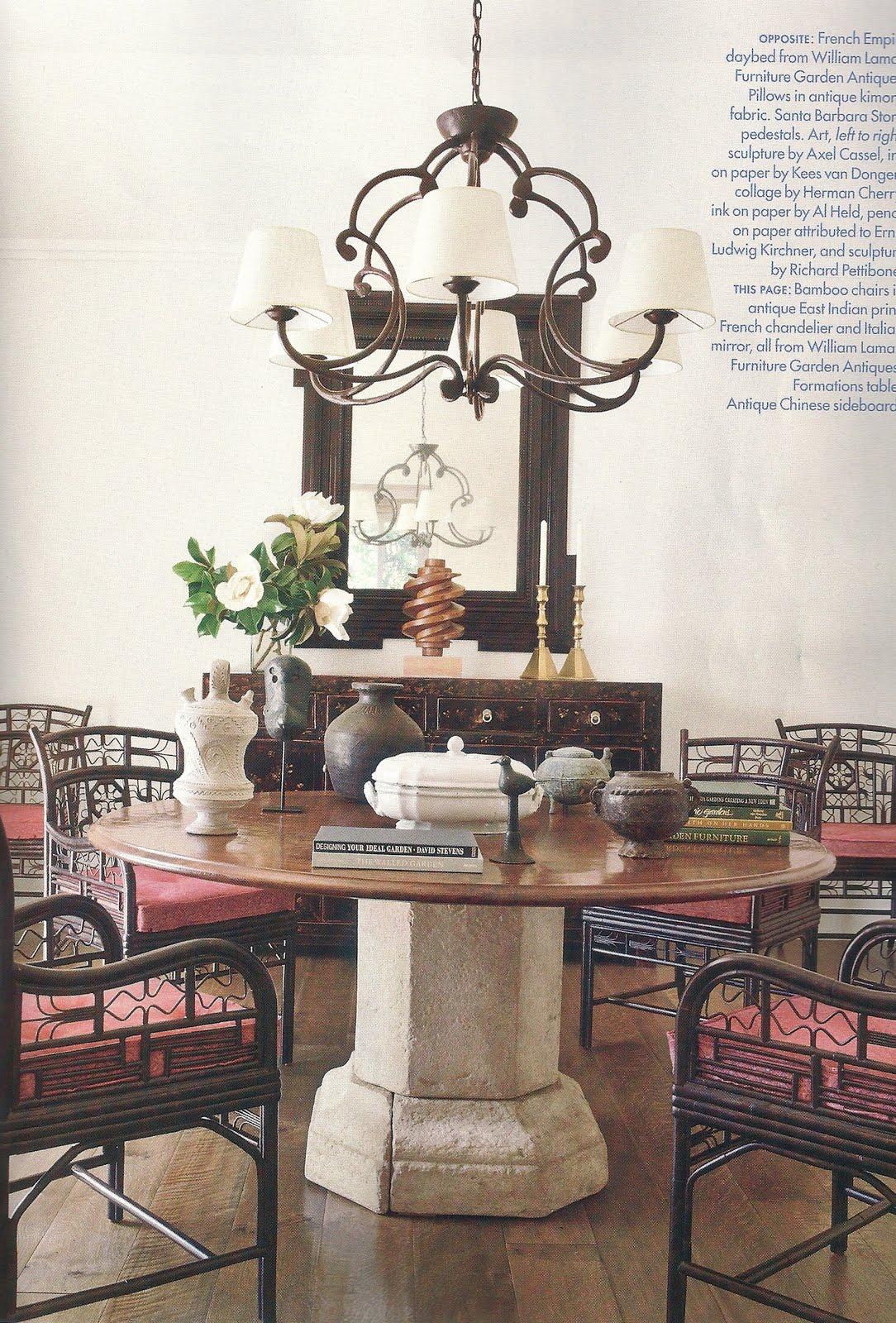 BRUCE GREGGA AT HOME IN CALIFORNIA Interior Designer