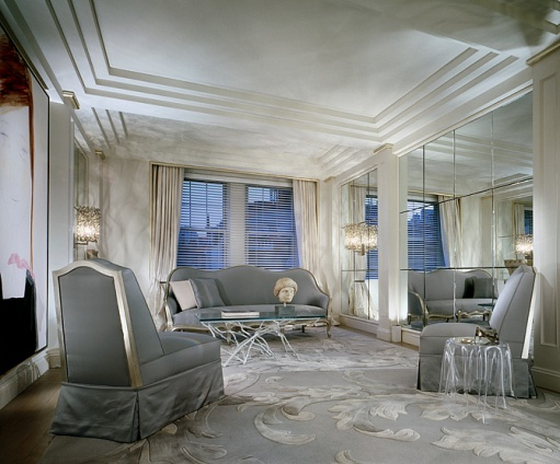 Designed This Park Avenue Apartment For Himself Where Is Conveniently Around The Corner From His Office If You Love Art Will Home