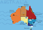 Map of australia. This is my map however it is not finished yet, . (mitches map)
