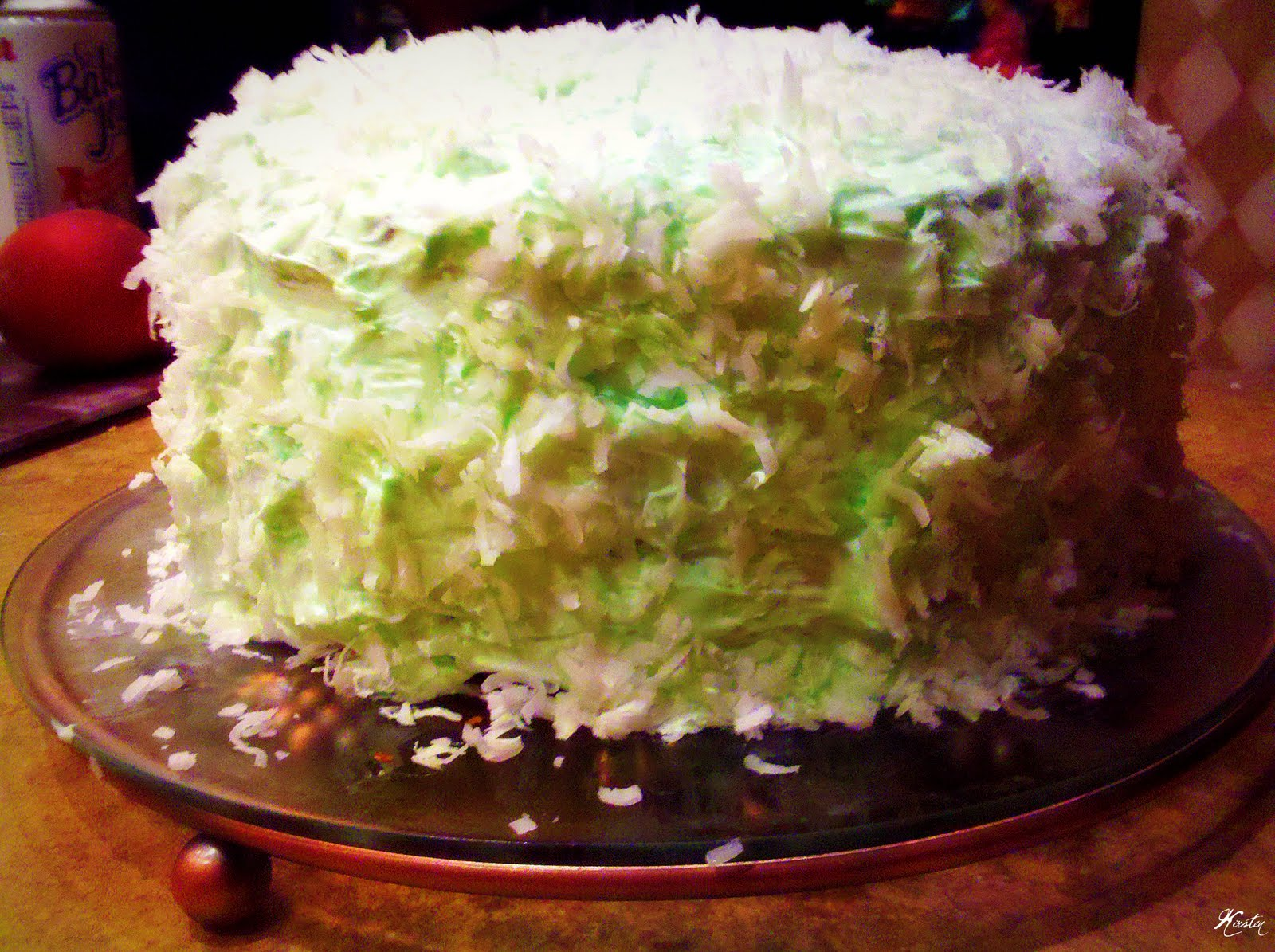 IR}STEN: Key Lime Coconut Cake