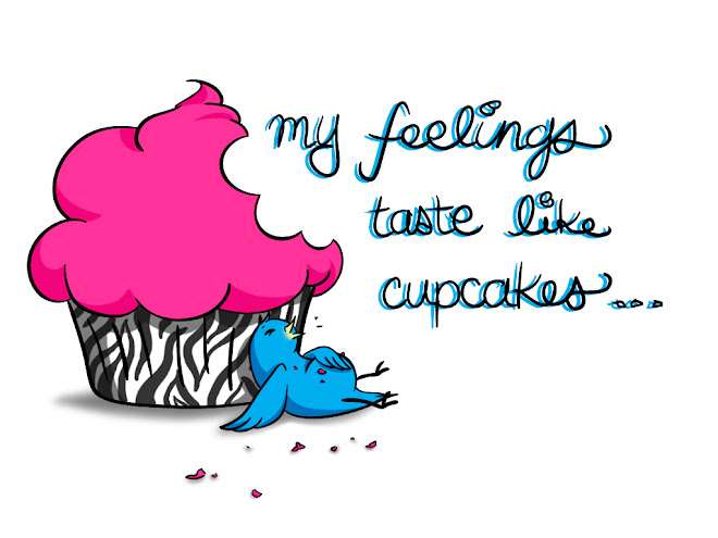 my feelings taste like cupcakes