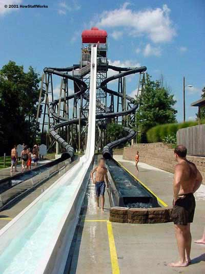duh huge water slide