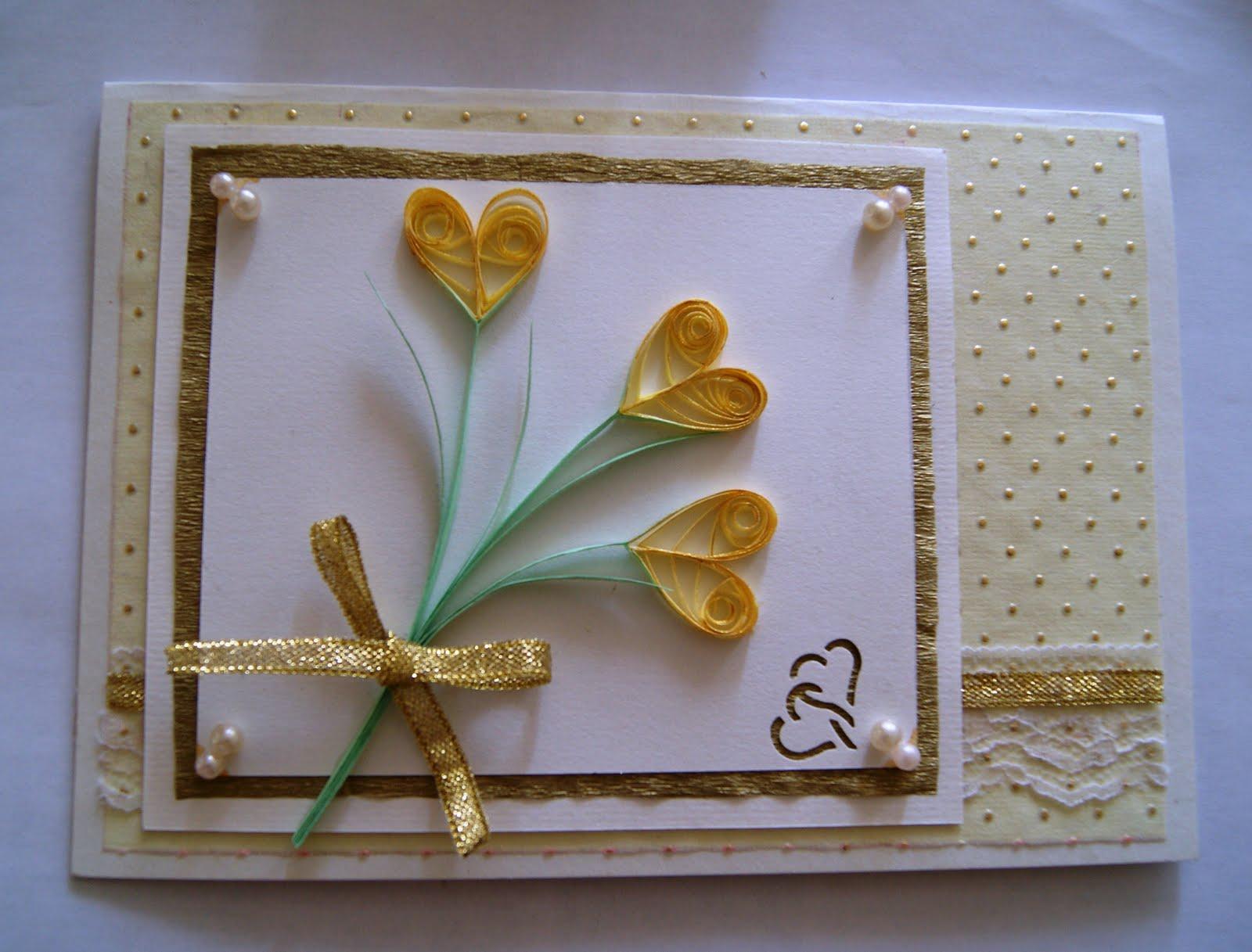 Как сделать открытку на свадьбу родителям своими руками