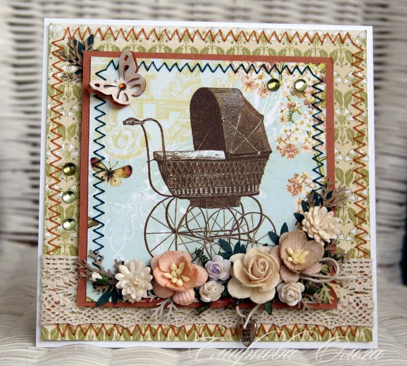 Живые открытки для новорожденного