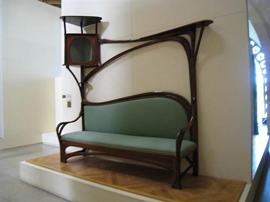 Tipos con Historia: El Mobiliario Art Nouveau
