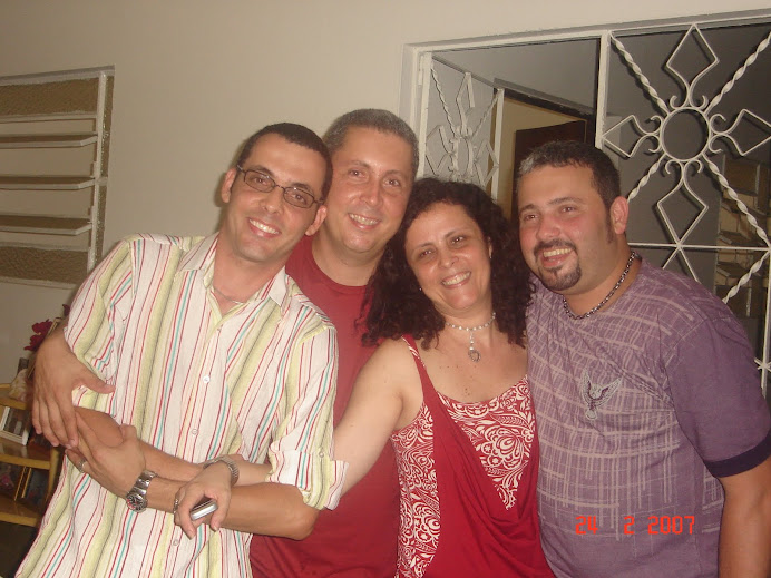 Bringel, Klein, Karem e Geraldinho