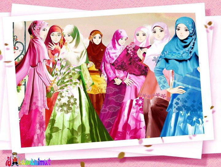 wallpaper muslimah sejati. Gambar+muslimah+sejati