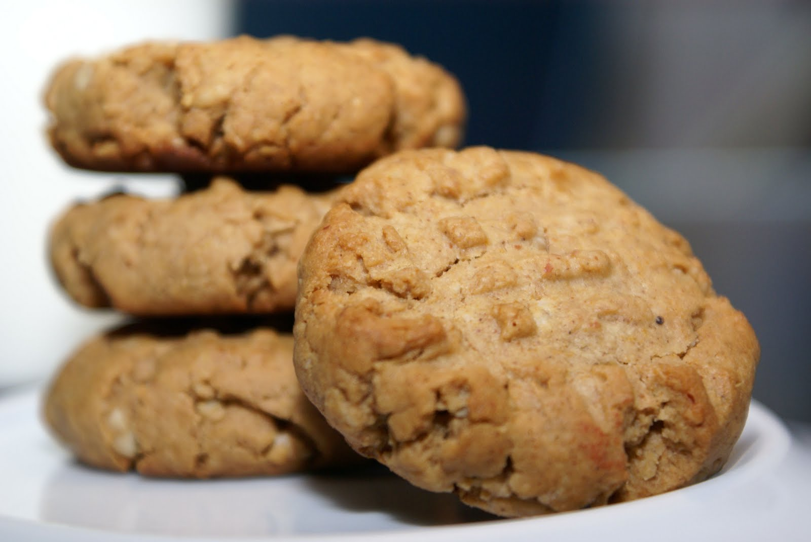... and don't forget to breathe: Vegan Peanut Butter Cookies (wheat-free