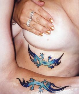 Sexy Lizard Tattoos