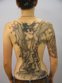 tattoo for a back girl