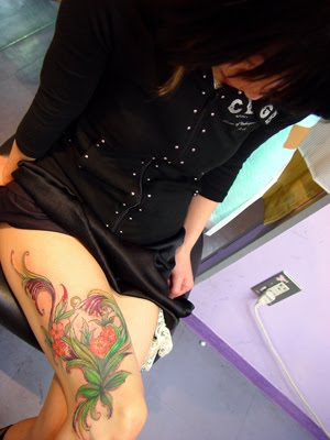 Lily Flower Tattoos Trend Asian tattoo style for girl picture gallery