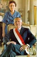 2do Gobierno: Presidente Fernando Belaunde y Primera Dama Violeta Correa