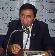 Mario Peña. Congresista de A.P. por Loreto