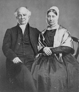Park Donor Mrs Emma Joel Gibbins and husband