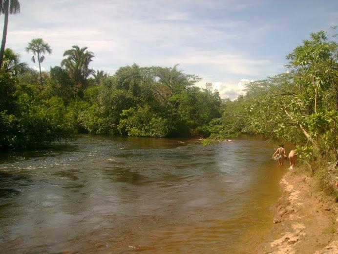 ENCONTRO RIO ITAGUARI COM RIO RIACHÃO