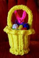 Canastita de Pascua-Loom Lady
