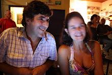 Luiz Augusto e moça poeta
