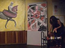 Renata Sandoval Pintura ao Vivo